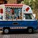 Ice Cream Van, Covent Garden.
