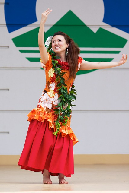 Hula Dancing in Hachimantai