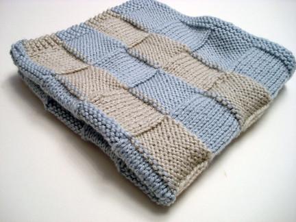 Knitting Pattern Central Blankets : FREE BASKETWEAVE BABY BLANKET PATTERN Lena Patterns