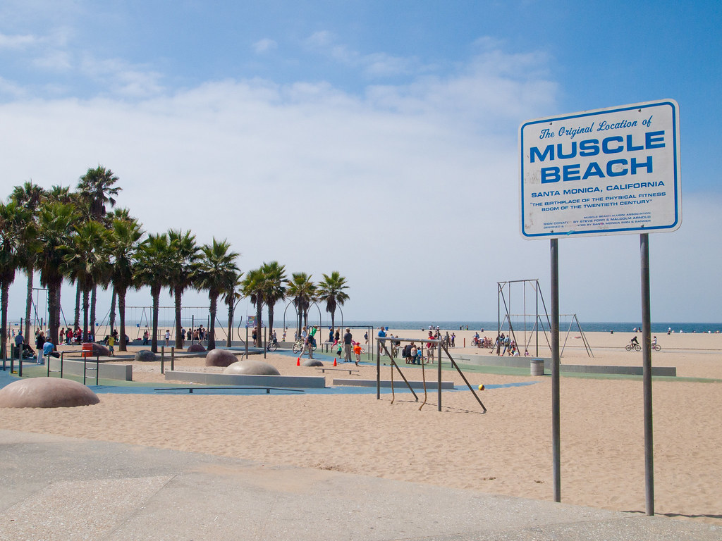 Muscle Beach, Venice, Los Angeles