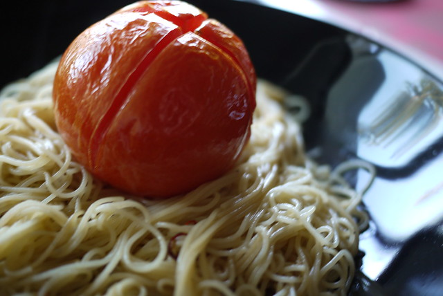 grilled tomato pasta - 03 | daily photo 108-c: grilled tomat ...