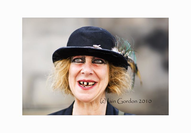Scary Looking Woman - Edinburgh Festival 2010 | Flickr ...