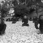 Nek Chand Sculptures at the Rock Garden in Chandigarh, India