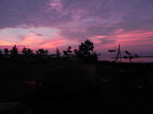 sunset 夕日 日の入り pleasedonateforjapanearthquake
