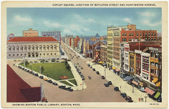 Copley Square, Junction of Boylston Street and Huntington Avenue [front]