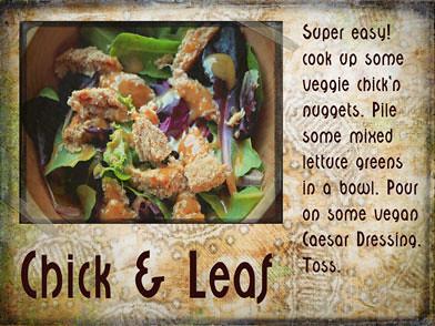 Chick & Leaf