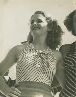 Winner of the Sirens of the Surf competition, Miss Bonnie Orchard, Gold Coast, 1936