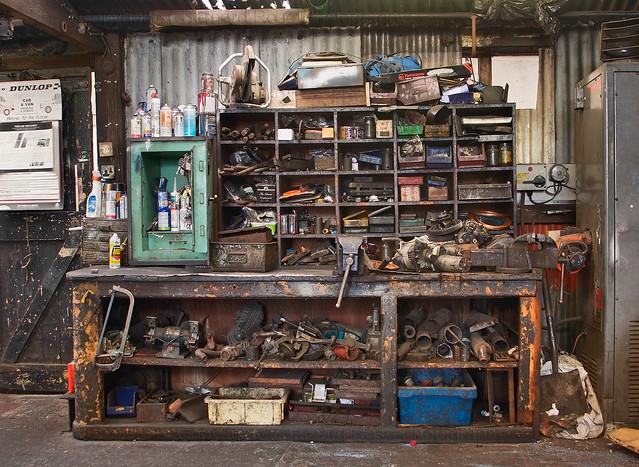 large garage ideas mechanic - Mechanics Work Bench a photo on Flickriver