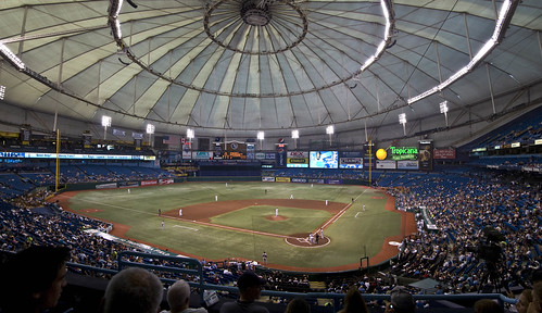 Tropicana Field in 2010