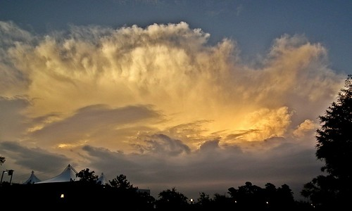 sunset sky orange white clouds spectacular grey evening awesome gray formation incredible