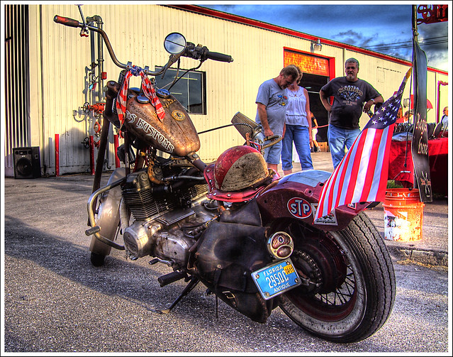Rat Rod Motorcycle A Photo On Flickriver