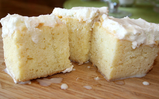Coconut Lime Tres Leche Cake | Flickr - Photo Sharing!