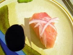 albacore tuna nigiri zushi(sushi)