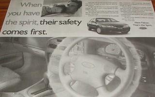 1997 Ford EL Falcon Ad