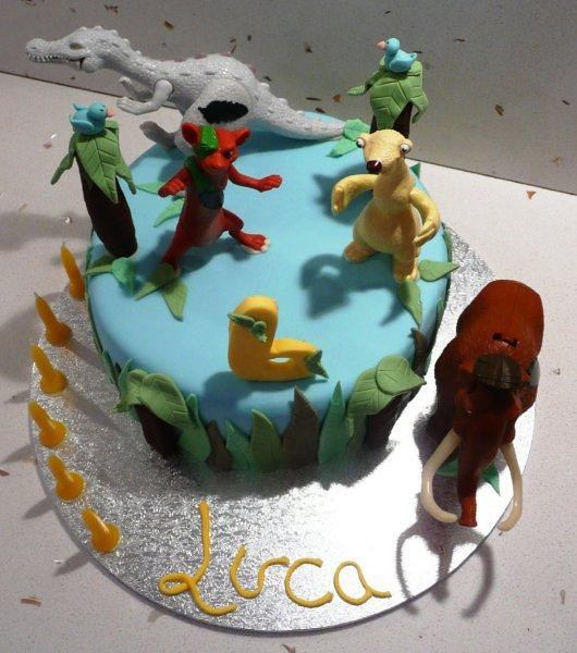 luca's ice age 6th birthday cake  a photo on flickriver