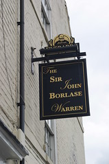 Sir John Borlase Warren, Nottingham
