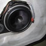 Woofer Hertz on Peugeot 607