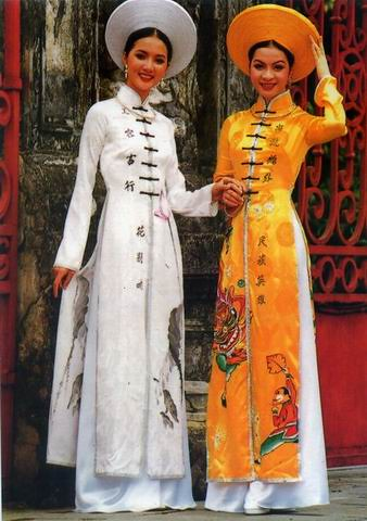 Excellent Vietnamese Dress Ao Dai For Amy Vietnamese Traditional Vietnamese