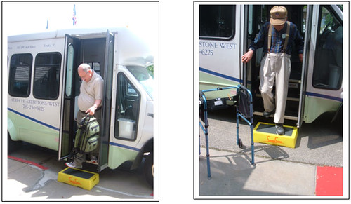 Safe Step Stool for Bus, SUV, Van
