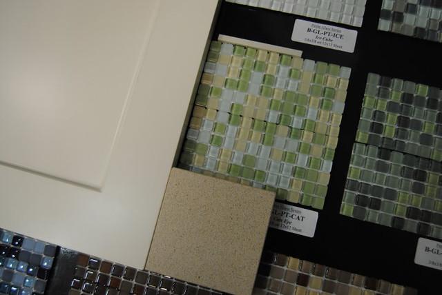 Small Tile Backsplash In Kitchen