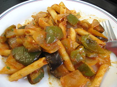 vegetable, vegetarian food, penne, food, dish, cuisine,