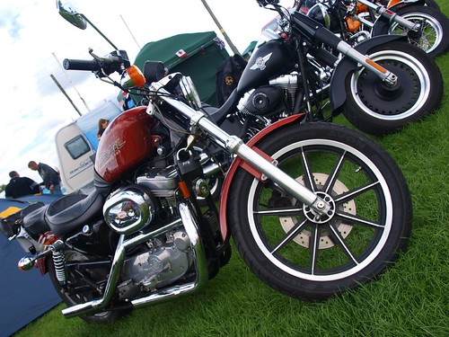 Harley Davidson Sportster 883 Motorcycles