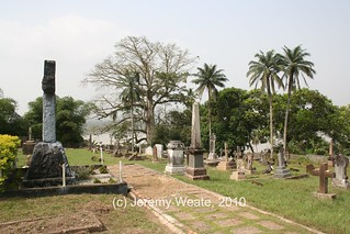Mary Slessor's grave in Old Calabar
