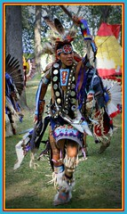 Proud Native American Dancer