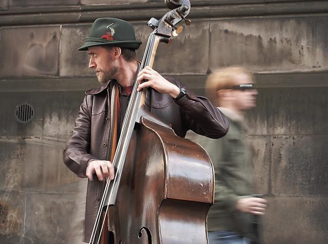 Street Bassist