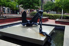 Fountain on River Street