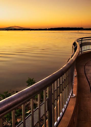 bridge sunset canon landscape washington columbiariver 7d pacificnorthwest dslr kennewick missedsunset stevenlamar