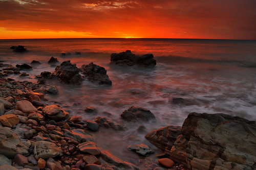 Conservation Park at Sunset Hallet Cove, South Australia # HDR