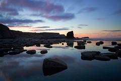 Black Nab...sunset reflections