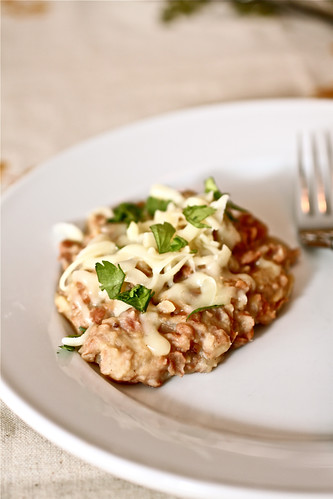 Refried Beans with Bacon