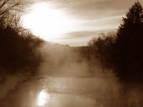 winter fog sepia sullivancounty