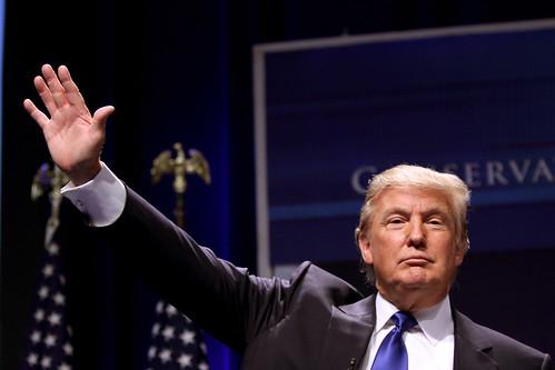 le milliardaire américain donald trump
