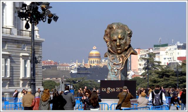 Preparativos premios Goya