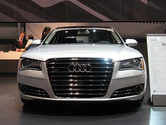 automobile(1.0), automotive exterior(1.0), audi(1.0), executive car(1.0), audi a7(1.0), vehicle(1.0), automotive design(1.0), auto show(1.0), audi s8(1.0), grille(1.0), audi sportback concept(1.0), audi a8(1.0), bumper(1.0), land vehicle(1.0), luxury vehicle(1.0),