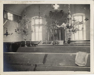 Photographs From a Haas Family Vacation to Bavaria, Germany: Reckendorf, Synagogue Interiors (circa 1911)