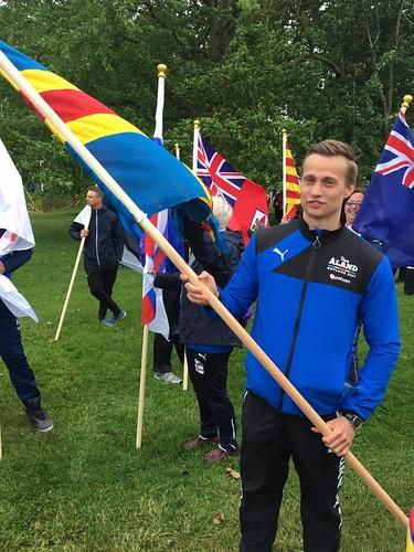 Gustav, flaggbärare