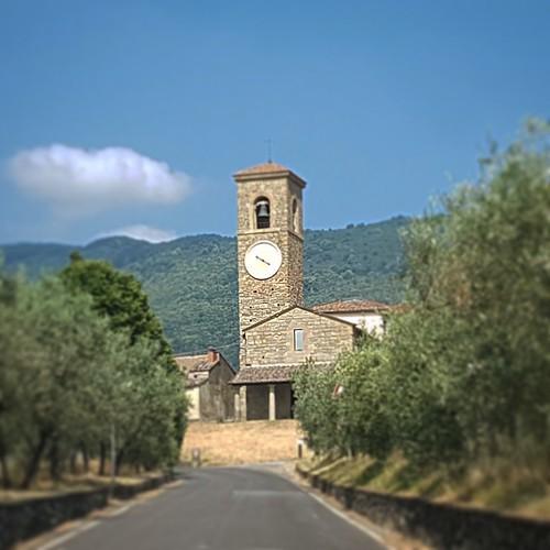 Toscana: panorama lungo la strada