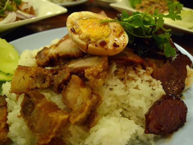 BBQ Pork Over Rice