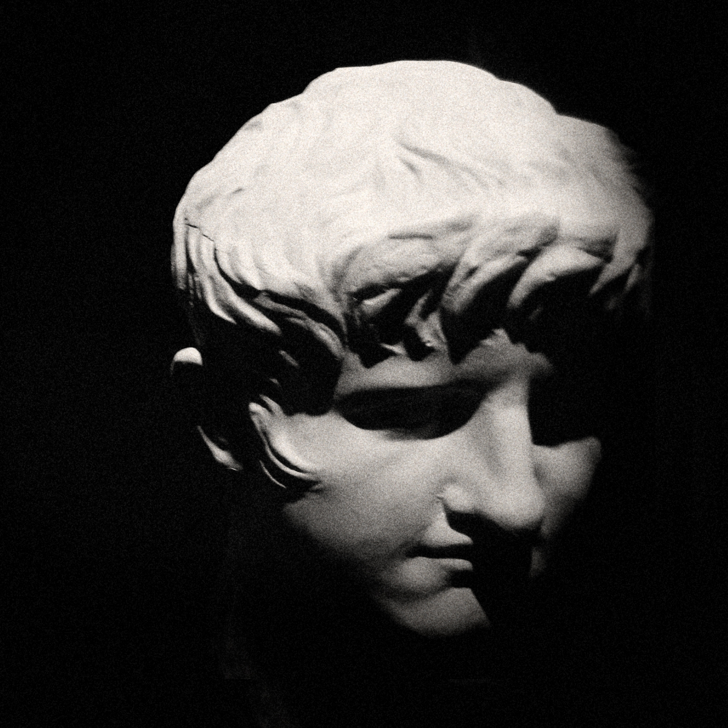 Head of Young Nero