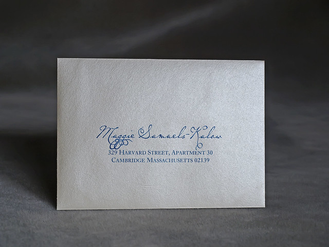 Wedding Invitations With Response Cards And Envelopes: Chicago Skyline Wedding Invitation Reply Card Envelope