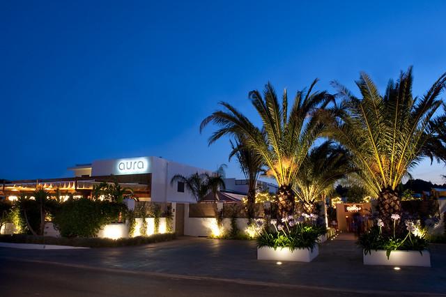 Aura Ibiza, Ibiza restaurant and lounge bar