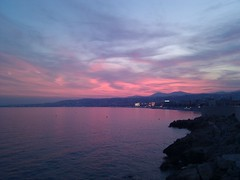 Sunset Over Nice