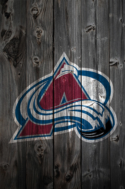 colorado avalanche wood iphone 4 background flickr