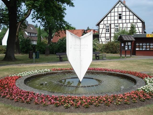 Gipsbrunnen im Bürgerpark