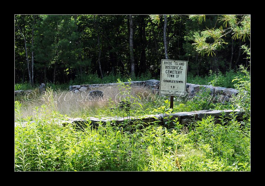Rhode Island Historical Cemetery Hopkinton