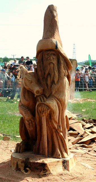 Wizard dragon wood carving flickr photo sharing